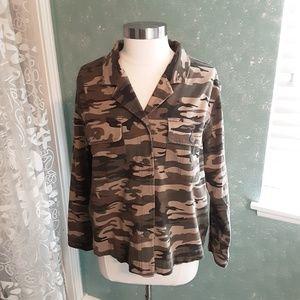 NWT~Sanctuary Camouflage Jacket~ sz L